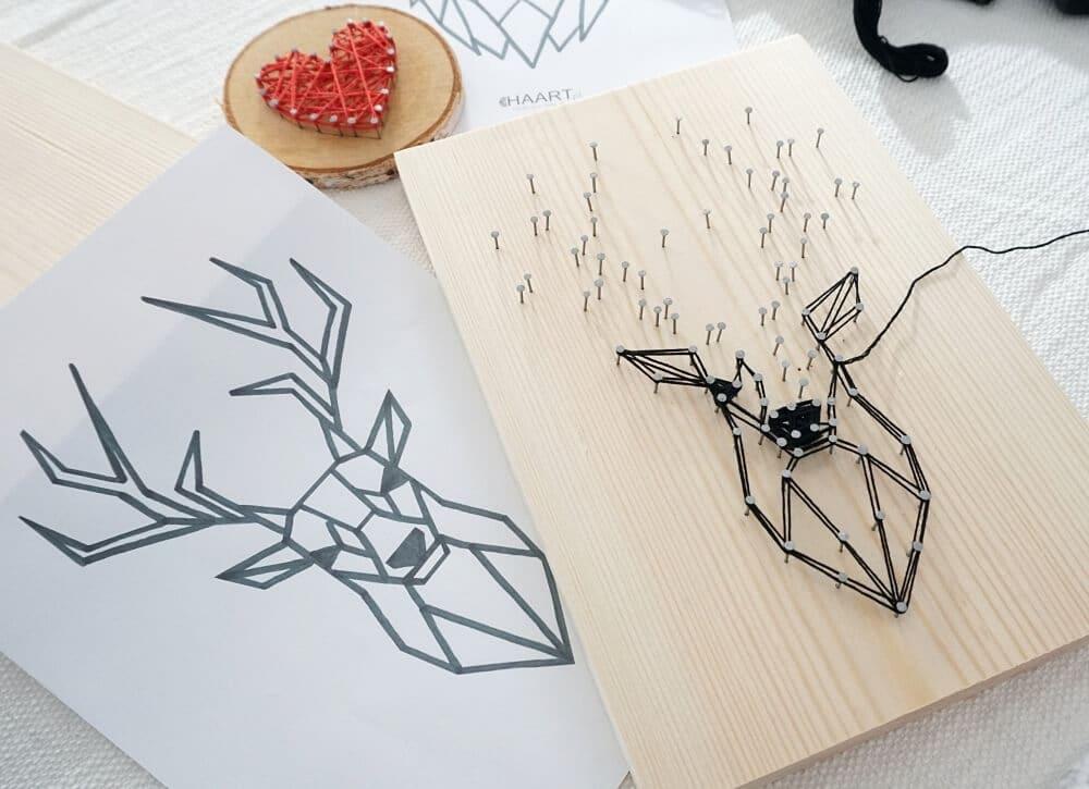kreatywny zestaw jelen strong art